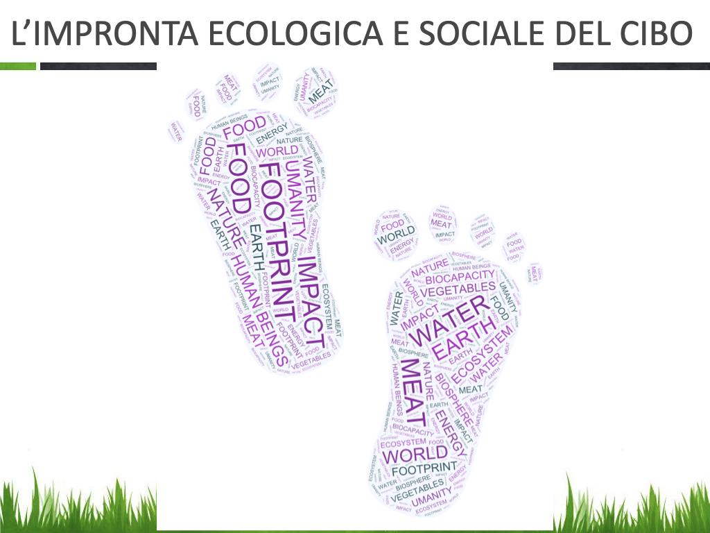 L'impronta ecologica e sociale del cibo