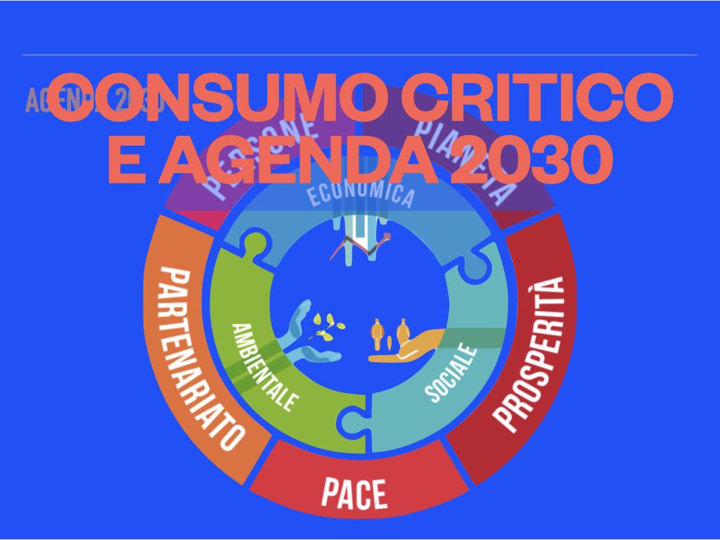 Consumo critico e Agenda 2030