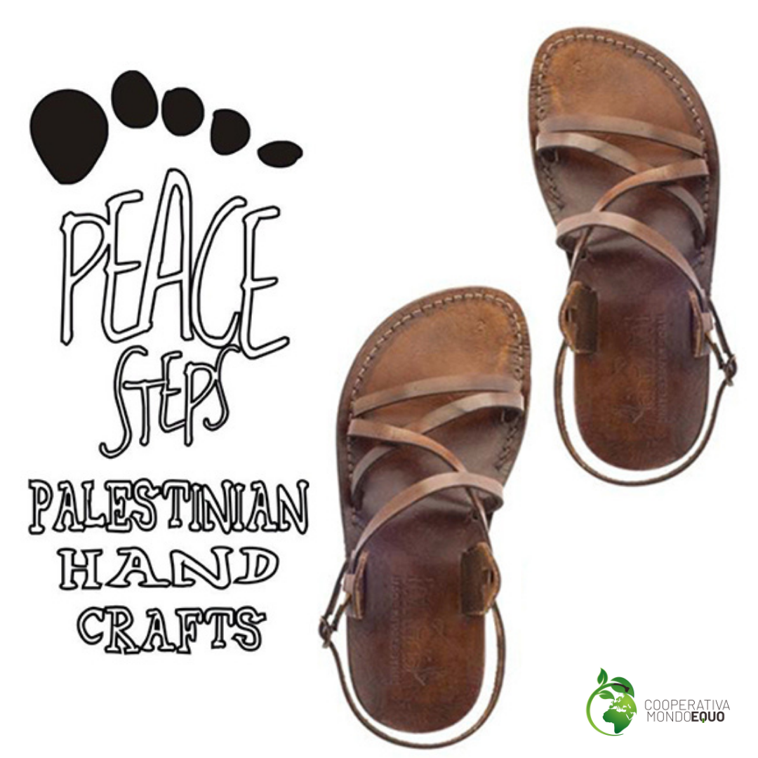 Peace Steps-sandali palestinesi fatti a mano